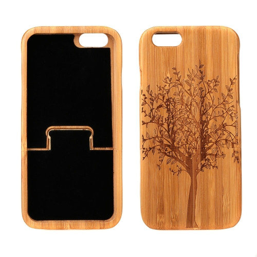 Lightweight Bamboo Fashion Environmental Pattern Protective Case Back Cover for iPhone 6 4.7