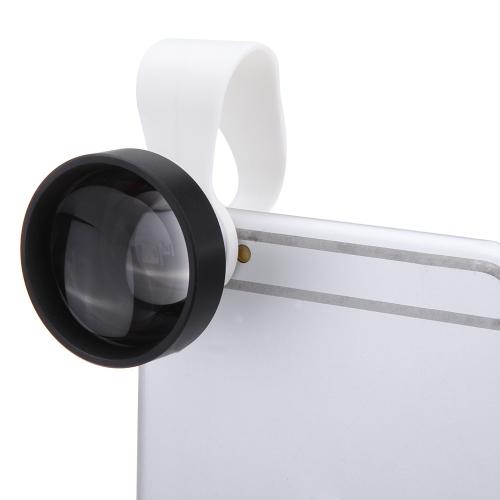 Clip-on staccabile 25° 5 X moltiplicatore di focale lente per iPhone 6 5 Samsung Xiaomi Sony iPad Mini