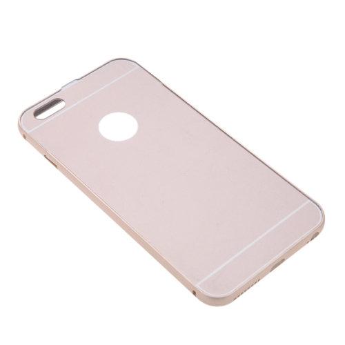 2-in-1 Detachable Ultrathin Lightweight Fashion Bumper Protective Metal Frame Shell Case + PC Back Cover for iPhone 6 Plus