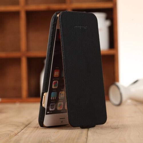 Fashion Genuine + skórzana torba PU Ultra Slim Flip Pokrowiec ochronny dla iPhone 6 Plus