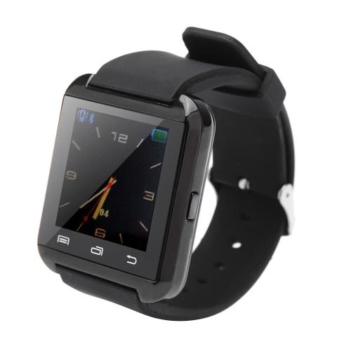 U8 Plus BT Smart Watch orologio da polso per iPhone 4/4S/5/5S con IOS 7.1 o sopra Samsung S4/Note 2/Nota 3 HTC Android Phone smartphone anti-lost allarme funzione Touch Screen