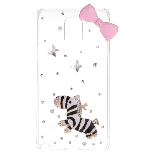 Ultrathin Lightweight Plastic Fashion Bling Bumper Shell Case Protective Back Cover for Samsung Note 4 N910