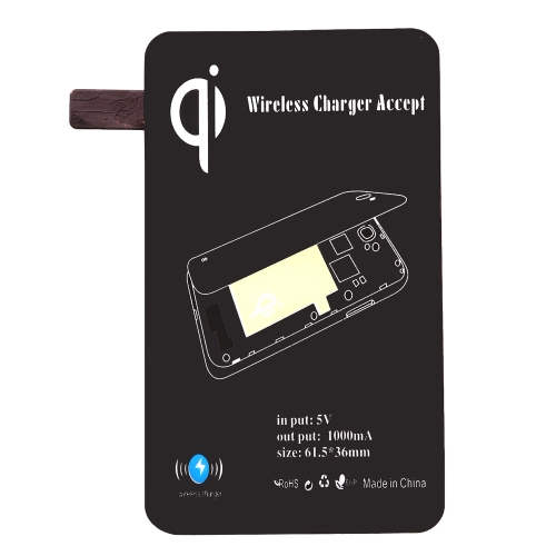 Certificated Ultra-thin Qi Standard Wireless Charging Receiver for Samsung Note Edge N915V N915P N915T N915A