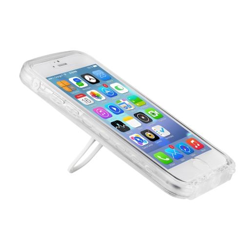 iphone6 4.7in 用の軽量、防塵防水、衝撃吸収IPX8 のダイビングケース、指紋承認てきます