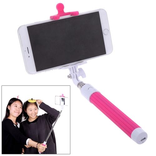 Portable Extendable BT 3.0 Selfie Handheld Monopod  Stick Holder for iPhone 4S 5 5S 5C 6 6 Plus Samsung Smartphone