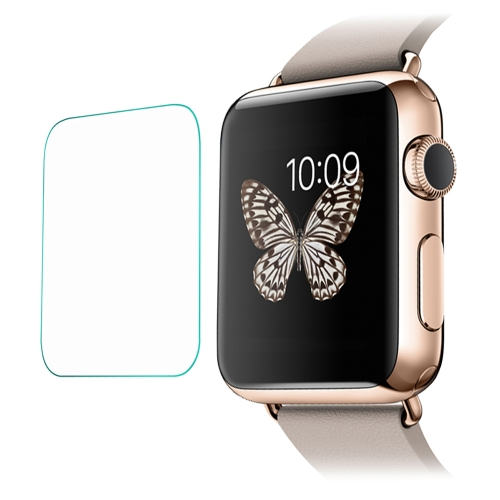 Link Dream 0.2mm 9H Tempered Glass Screen Protector Protection Film Guard Anti-shatter for Apple Watch 42mm
