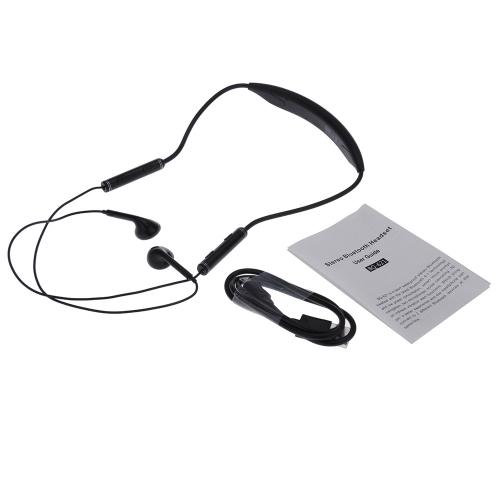 AEC BQ-621 Best-selling Portable Flexible Neck-strap Style Waterproof In-ear Wireless Sport Stereo BT 4.1 + EDR Hands-free Music H