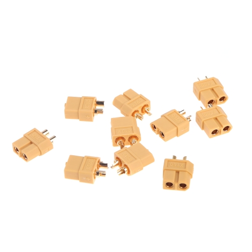 10 Pairs XT60 XT-60 Male Female Bullet Connectors Plug for RC Battery ESC Motor Part (XT60 Plug,XT60 Connectors )