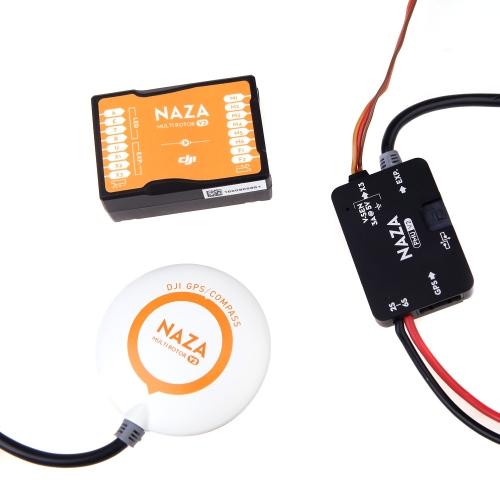 Originale DJI NAZA V2 Regolatore di volo w / GPS & PMU V2 per Multirotor Quadcopter (DJI NAZA V2; Quadcopter NAZA V2 Regolatore di volo; NAZA V2 GPS )