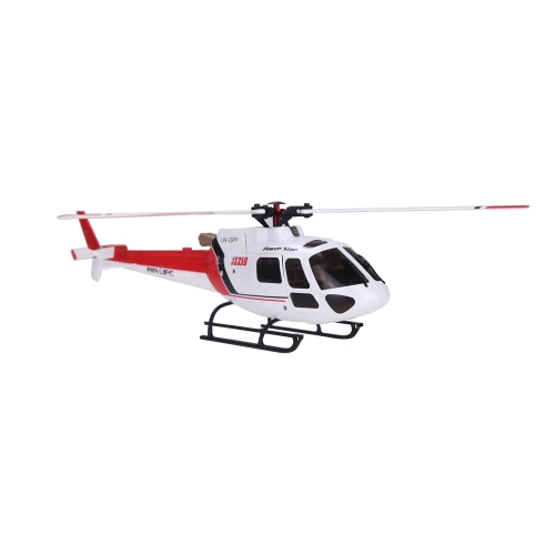 Originale WLtoys V931 6CH Brushless Motor Flybarless w / 3 assi e 6 Axis Gyro 3 Lama AS350 Scala Helicopter
