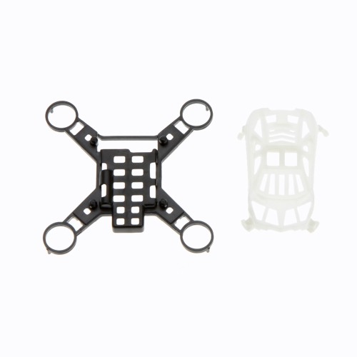 100% Original H1 4CH Mini Quadcopter Part H1-01 Canopy+Frame White+Black