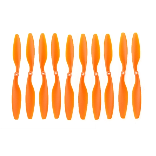 5ペアのオレンジの炭素ナイロン 10x4.5