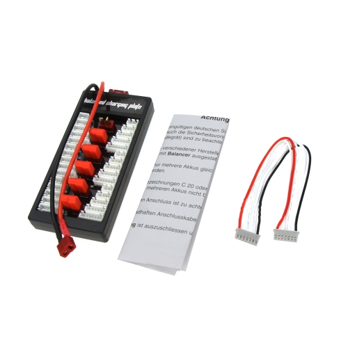 High Quality 2S-6S Lipo Parallel Charging Board Charger Plate T Plug for Imax B6 B6AC B8 6in1