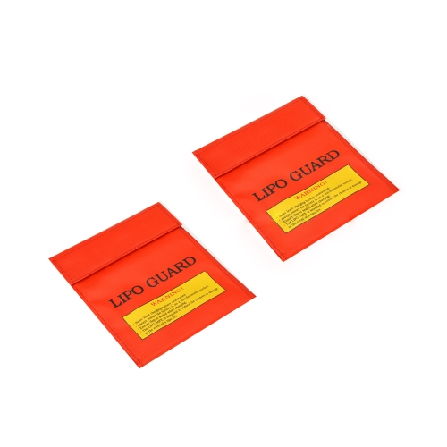 2 Pcs High Quality RC LiPo Battery Safety Bag Safe Guard Charge Sack  22 * 18 cm / 8.3 * 7.09 in