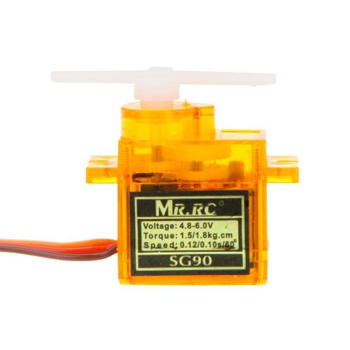 MR.RC High Precision Micro Mini biegów SG90 9g Servo Dla RC Samolot 450 Śmigłowiec Swashplate Servo