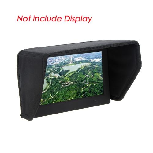 GoolRC高品質7インチFPV LCDモニターディスプレイSunShade Sunフード、DJIファントムビデオFPVグラウンドステーション用