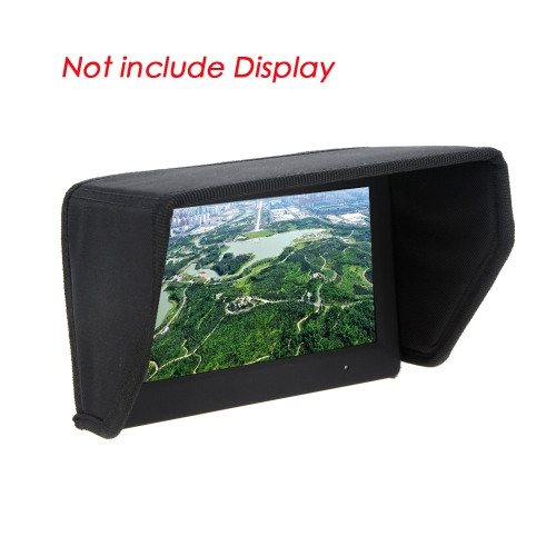 GoolRC Hochwertige 7 Zoll FPV LCD Monitor Display Sun Shade Sun Hood für DJI Phantom Video FPV Ground Station