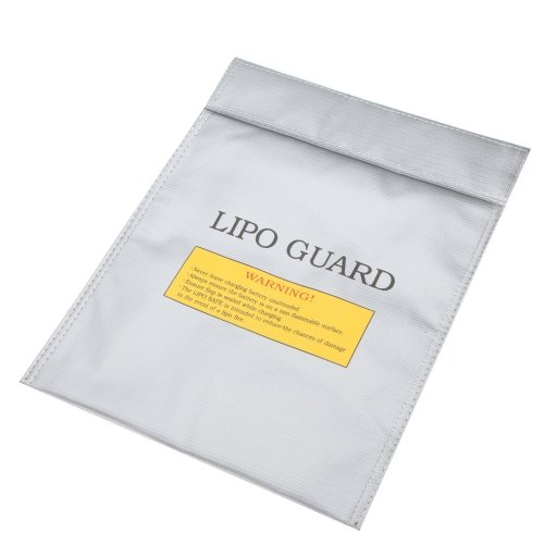 High Quality RC LiPo Battery Safety Bag Safe Guard Charge Sack 30 * 23 cm Silver