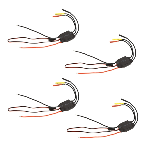 4pcs 12A Brushless ESC Electric Speed Controller with 1A BEC for RC 250 Mini FPV Quadcopter