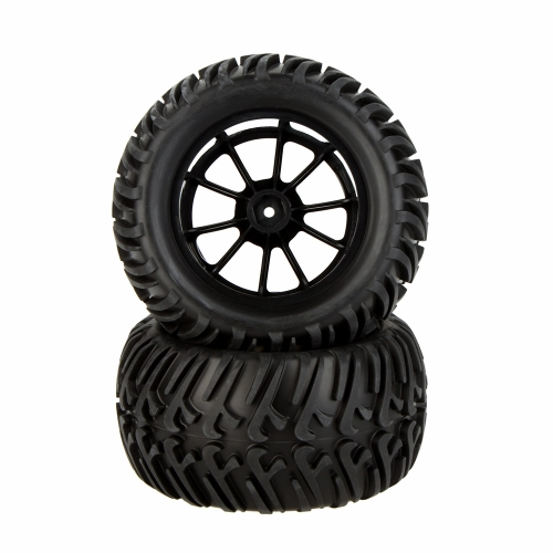 GoolRC 4Pcs High Performance 1/10 Monster Truck Wheel obręczy i opon do Traxxas 8010 HSP Tamiya HPI RC Car KYOSHO