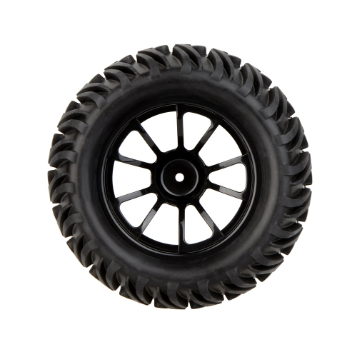 GoolRC 4Pcs High Performance 1/10 Monster Truck Wheel Rim and Tire 8010 for Traxxas HSP Tamiya HPI Kyosho RC Car