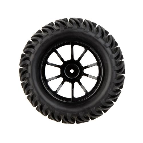 GoolRC 4Pcs ad alte prestazioni 1/10 Monster Truck cerchione e pneumatico 8010 per Traxxas HSP Tamiya HPI Kyosho RC auto