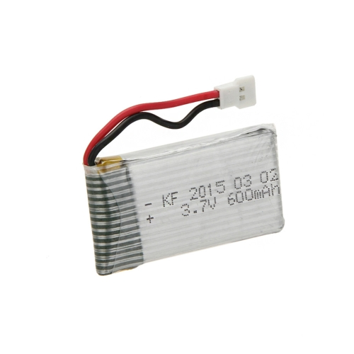 2pcs Upgrade High Power 3.7V 600mAh Lipo batterie pour SYMA x5C x5C-1 X5 JJRC H5C RC Quadcopter