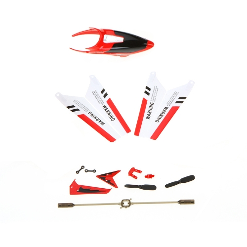 Kit di ricambio completo di Syma Kit di ricambio Kit di scorta blade principali Balance Bar Etc per Syma S107G RC elicottero giallo