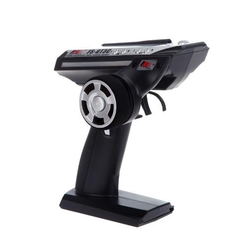 FS-GT3C 2.4G 3CH Radiomodell Remote Control LCD Transmitter & Empfänger für RC Car Boot