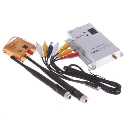 1.2G 8ch 800mW Wireless Camera Video AV Audio Transmitter Receiver FPV OSD