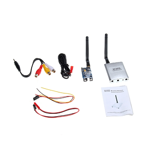 8CH 5.8G Mini Wireless FPV Transmitter and Receiver Kit Real-time 400mW 2000m