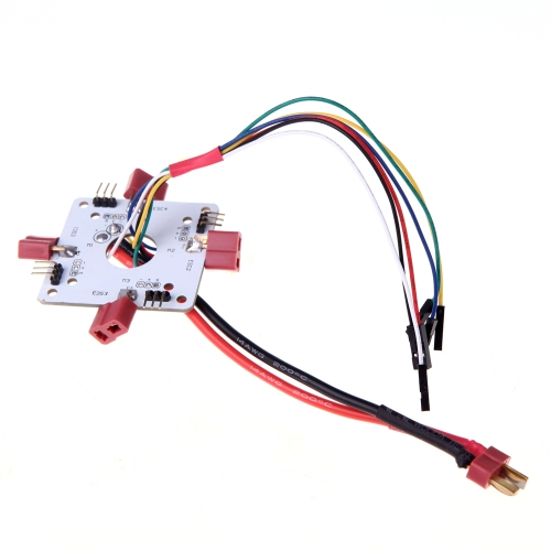 T-Stecker Verteilerplatine für RC Quadcopter APM PX4 & Paparazzi Flight Controller Board (Distribution Board, ESC Verteilerplatine, Quadcopter Teil Verteilerplatine)