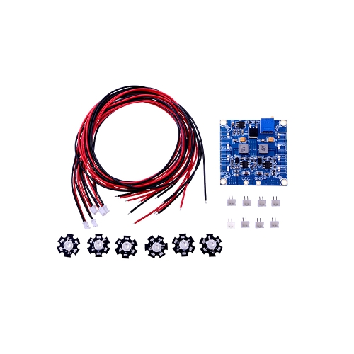 GoolRC RC 6 LED Flashing Light/Night Light w/LED Board and LED Extension Wire for Hexacopter Night Fly(LED Flashing Light,Hexacopter Night Fly LED,LED Board and LED Extension Wire)