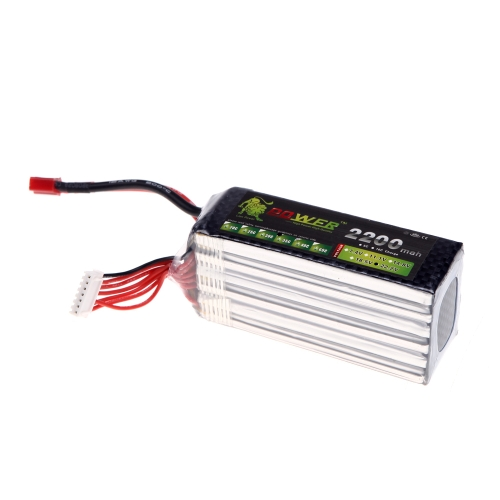 Oriainal Lion Power Lipo Battery 22.2V 2200Mah 35C MAX 50C T Plug for RC Car Airplane Helicopter DJI FPV Multirotor Part