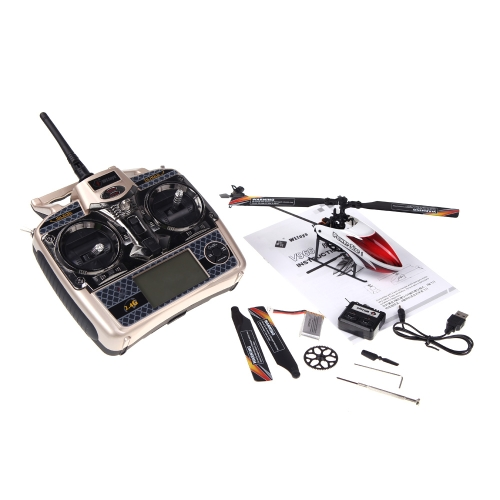 WLtoys V966 Power Star 1 6CH 2.4G 3D Flybarless RC Helicopter (WLtoys Helicopter,V966 Power Star 1 Helicopter,Flybarless RC Helico от Tomtop.com INT