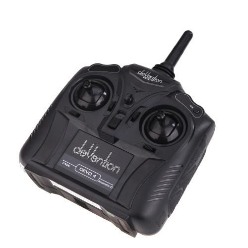 Walkera Devention Devo 4 2.4GHz 4CH RC transmisor Radio Control modelo 2 (transmisor Walkera, DEVO 4 transmisor, transmisor de 4 canales)