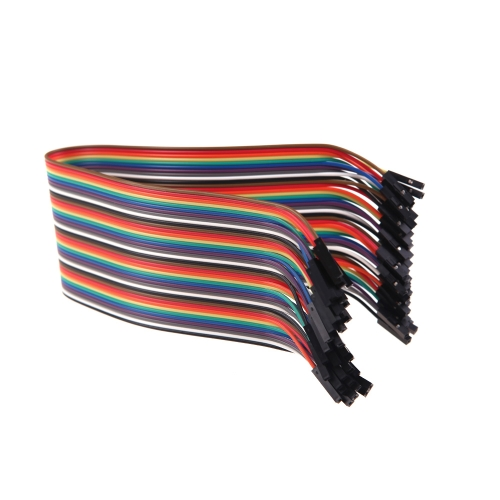 40P Dupont Wire 30cm Cable Line Colorful 1p-1p pin Connector Female to Female for RC Quadocpter (Dupont Wire;Dupont Cable Line;Quadocpter Dupont Colorful Wire)