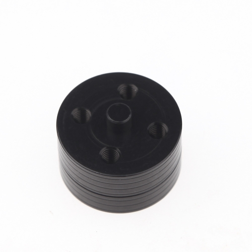 4шт черный CNC алюминиевого сплава быстрой разборки & весла сиденье совместим с 3 мм 3,17 мм 4 мм мотор FPV Multirotor (быстрый демонтаж манипулятора сиденья;Алюминиевого сплава весла сиденье) фото