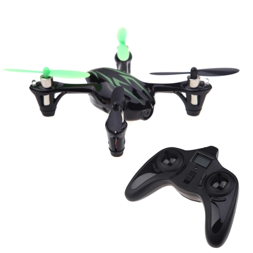 100% Original Hubsan X4 H107C 2.4G 4CH RC RTF Quadcopter W/ 30W Camera Black & Green (Hubsan X4 Quadcopter;Hubsan H107C Quadcopter)