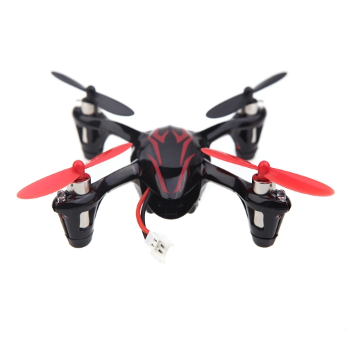100% oryginalny Hubsan X4 H107C 2.4G 4CH RC Helicopter RTF Quadcopter W / 0.3MP kamera Black & Red (Hubsan X4 Quadcopter; Hubsan H107C Quadcopter)