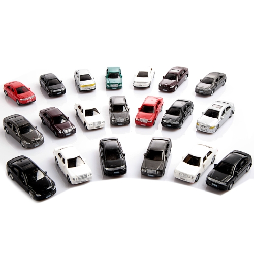 Painted Model Cars (1:75)