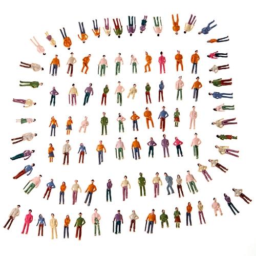 Painted Model People (1:75)