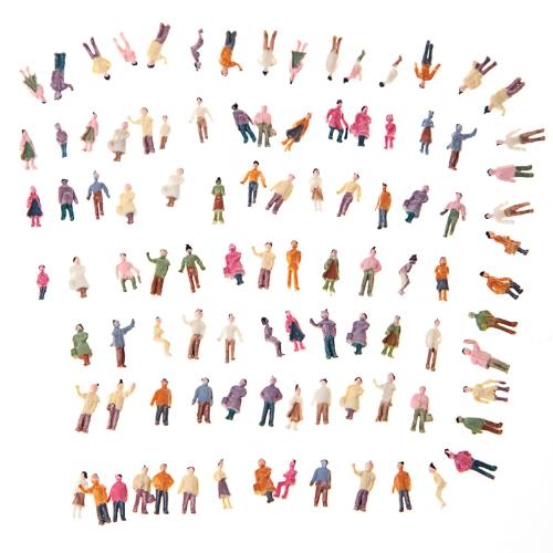 Modelo pintado personas (1: 150)