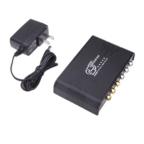 New Portable 1080P HD to Component Video (YPbPr) Video converter for HDTV Monitor
