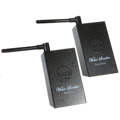 Receptor de áudio e vídeo transmissor sem fio de 2.4GHz