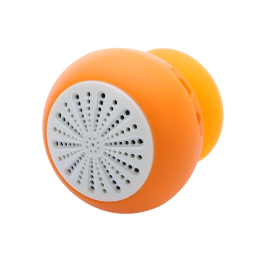 Mini Stereo BT Speaker Subwoofer Bass Sound Box for iPhone iPod iPad Handsfree Mic Car Suction Cup O