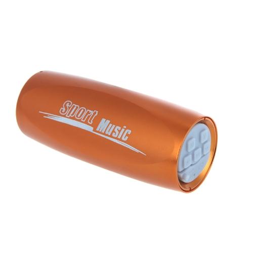 Portable Sports Music Sound Box Mini Bicycle Bike MP3 Player Speaker FM Radio Micro SD/TF Golden