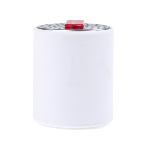 Mini Portable Loudspeaker Rechargeable Wireless Bluetooth Music Player Audio Amplifier White
