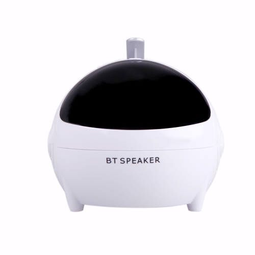 Wireless Bluetooth Speaker Stereo Built-in FM Radio with Microphone USB/ TF Card Slot LED Display Robot Versatile Multifunctional Fashion