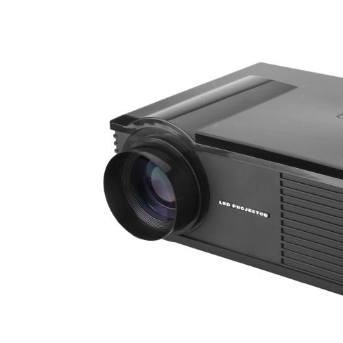 HD LED Projector Wireless Display Miracast/DLAN/EZcast Native 1280*800 HD-Ready 1080P HD VGA DTV/ATV S-video USB